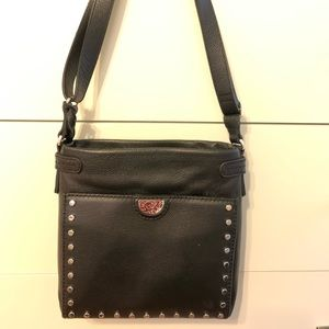Brighten leather bag